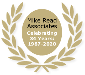 Mike Read Associates - celebrating 33 years - 1987 - 2020